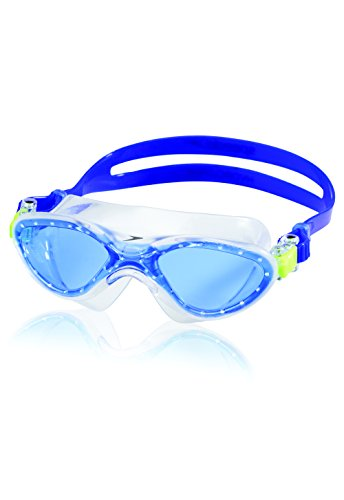 (Speedo Kids Hydrospex Classic Swim Mask, Blue Ice, One Size)