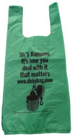 Dicky Bag Bolsa para excrementos caninos Biodegradable, Marca ...