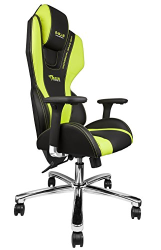 E Blue Mazer Gaming Chair High Grade Pu Leather Pc Racing