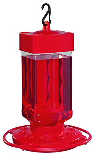- First Nature 3055 32-ounce Hummingbird Feeder