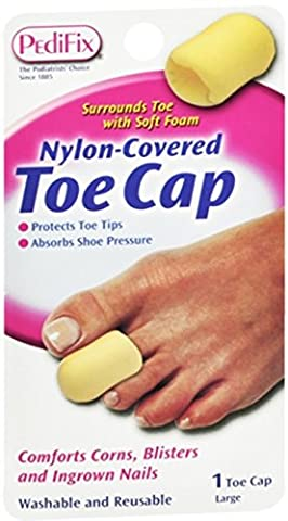 PediFix Nylon-Covered Toe Cap Large 1 Each (Pack of 4)