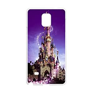 Stevebrown5v Disneyland Paris,castle Cases for Samsung Galaxy Note 4, with White