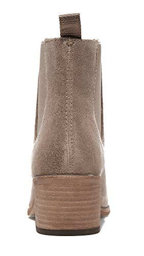 Dolce Colbey Taupe Vita Boots Women's Dark Chelsea SEpSxvqwr