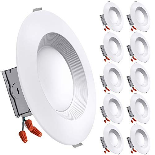 Freelicht 10 Pack 5/6 Inch Slim LED Downlight with Junction