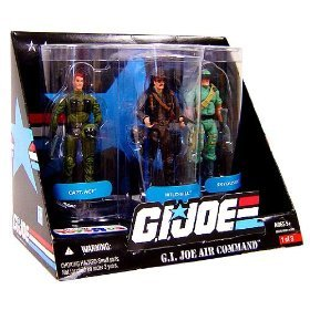 G.I. JOE Exclusive G.I. Joe Air Command Action Figure 3-Pack (Captain Ace, Wild Bill and Skyduster)