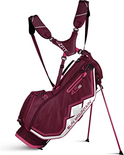 Sun Mountain 2019 Womens 4.5 Ls Stand Bag Red/Pink