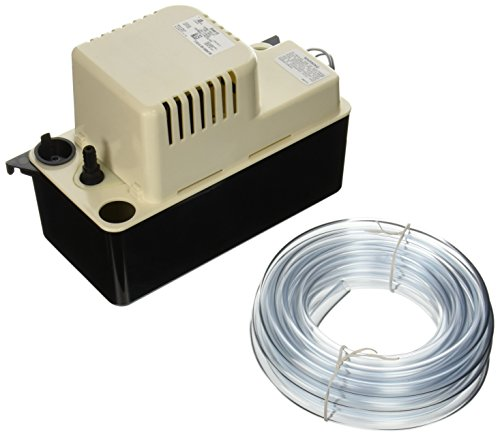 Little Giant 554415 65 GPH 115V Automatic Condensate Removal Pump with Safety Switch and 20ft. Tubing (Furnace Pump Condensate)