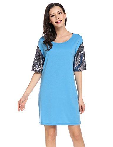 Buy belted chiffon shift dress - 9