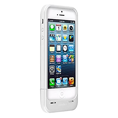 Mophie space pack for iPhone 5/5s with 32GB of built-in Storage (1,700mAh) - White (Certified Refurbished)