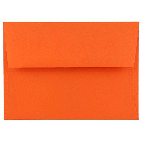 good jam paper a7 invitation envelopes 5 1 4 x 7 1 4 brite hue