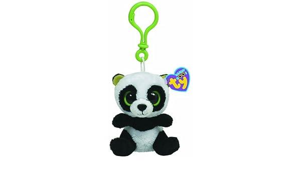 Ty 36502 Beanie Boos - Oso panda de peluche Bamboo con ...
