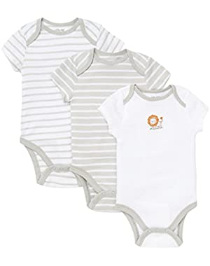 Little Lion 3pk Bodysuit