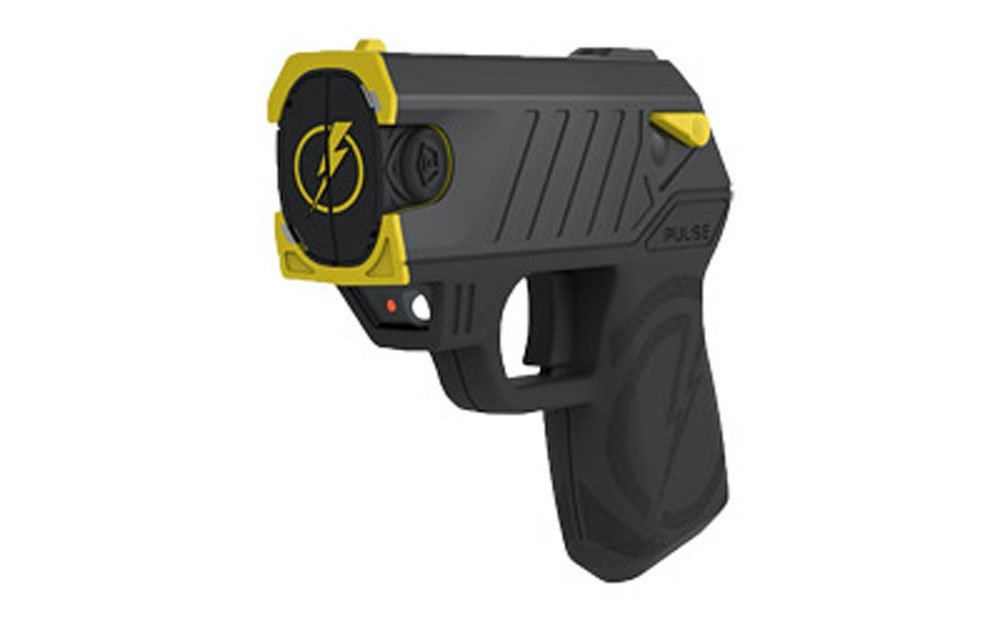Taser Pulse w/Laser LED 2 Live-Cartridges Holster LPM TargetBlack Finish by Taser