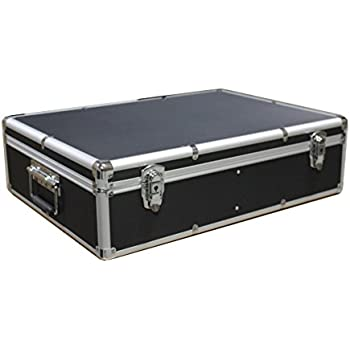 1000 CD DVD Black Aluminum Media Storage Case Mess-Free Holder Box with Sleeves  sc 1 st  Amazon.com & Amazon.com: 1000 CD DVD Black Aluminum Media Storage Case Mess-Free ...