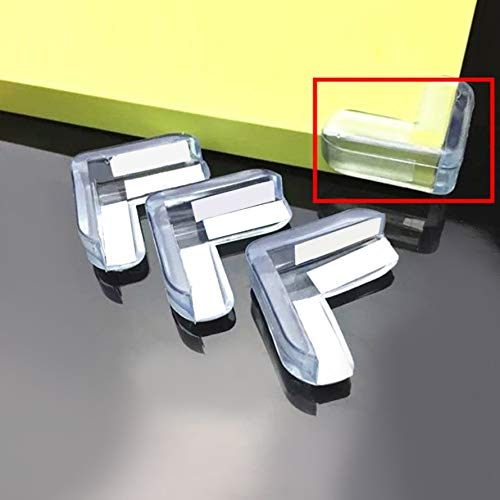 HoganeyVan Laveuse 4pcs B/éb/é Enfant S/écurit/é Prot/éger Table De Bureau Coins Coussin Garde Bumper /Épaissi Garde Tapis Safe Crash Protection Pads
