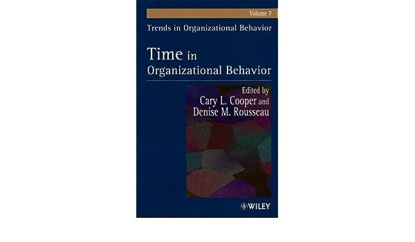 trends in organizational behavior