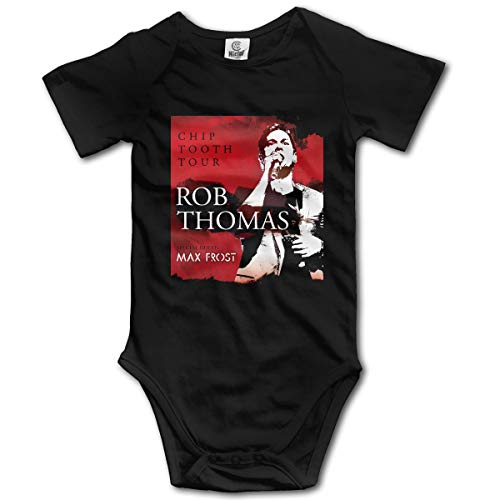 Liuerfeng Rob Thomas Baby Bodysuit Short Sleeves Boy Infant Newborn Bodysuits