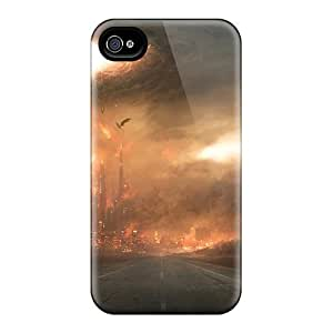 Hot ZvbABnA2830RbZZo End Of Days Tpu Case Cover Compatible With Iphone 4/4s