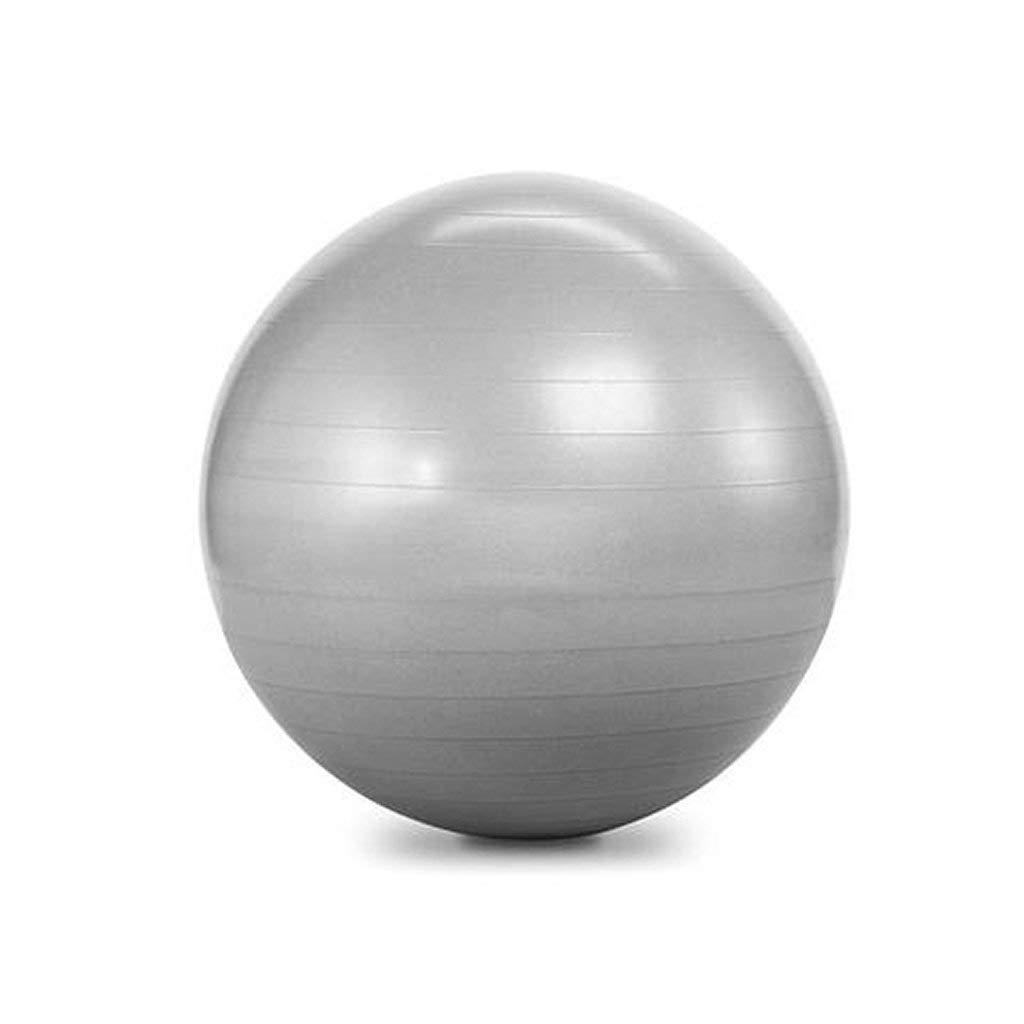Balego Heavy-Duty Exercise Fitness Balance Ball, 55 cm 22 Silver