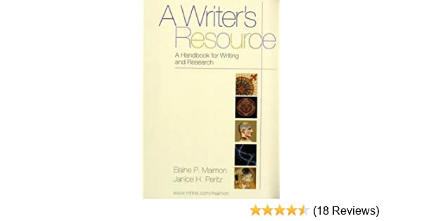 A Writers Resource Handbook For Writing And Research Plastic Comb 2003