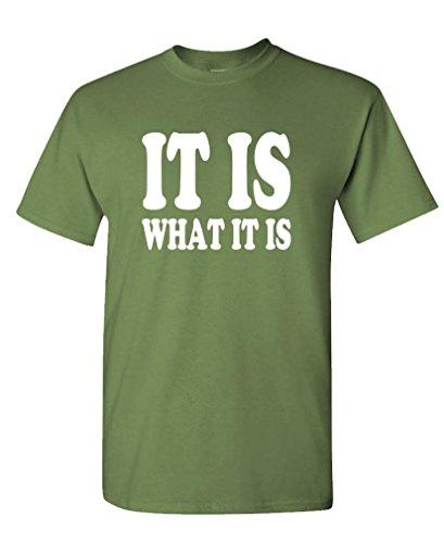 GOOZLER WHAT Mens Cotton T Shirt