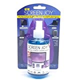 Screen Joy Computer Screen Cleaner and Microfiber Cloth - Perfect for Flat Screen TVs, Tablets, iPads, Laptops and Smartphones - A Screen Cleaner and Premium Cloth Made for Today's Modern Devices