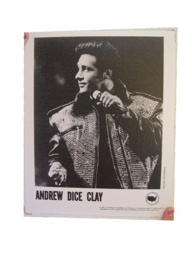 Andrew Dice Clay Press Kit and Photo Dice from RhythmHound