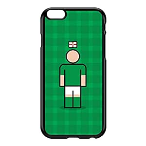 Northern Ireland Black Hard Plastic Case for iPhone 6 Plus by Blunt Football International + FREE Crystal Clear Screen Protector