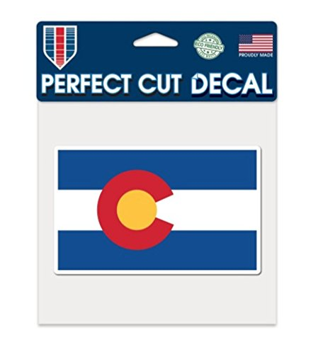 "WinCraft Colorado State Flag 6"" x 6"" inch Color Decal"