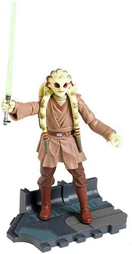 Amazon Com Star Wars Episode Iii 3 Revenge Of The Sith Kit Fisto Jedi Master Figure 22 Toys Games