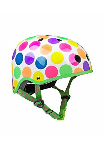 Medium 53-57cm Micro Neon Dots Helmet