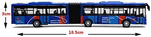 SNOWINSPRING Le Mod/èle de Bus Miniature de Voiture des Enfants de Voiture des Enfants de Jouets Joue Le Petit B/éB/é Tire en Arri/èRe Les Jouets Bleus