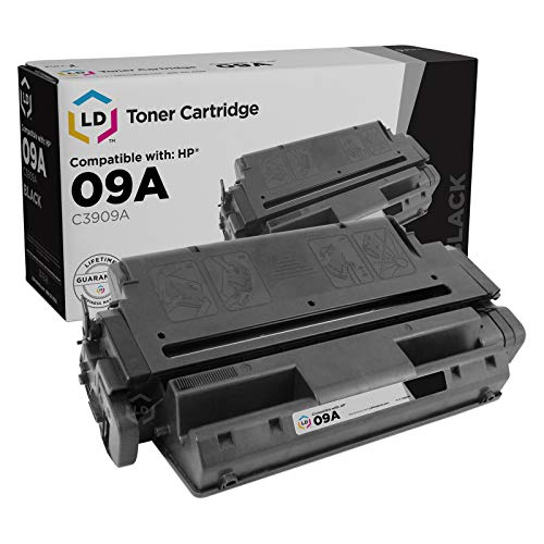 - LD Remanufactured Toner Cartridge Replacement for HP 09A C3909A (Black)