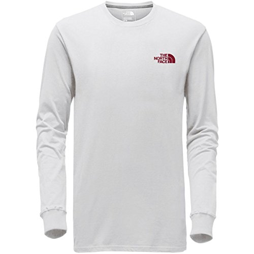 Face Long Sleeve Shirts (The North Face Long Sleeve Red Box Tee - Men's TNF White/TNF Red X-Large)
