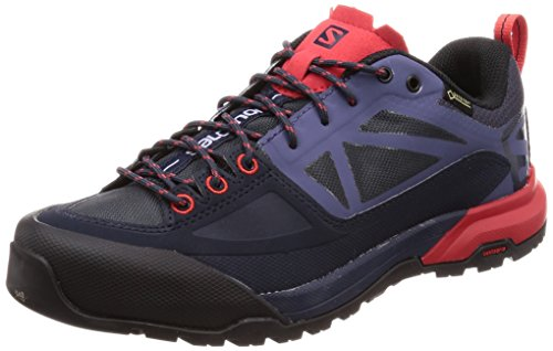 Blue Poppy Graphite 000 Salomon Red Trekking Grau Wanderhalbschuhe GTX Damen Crown amp; Spry X Alp W wpxvOq7w