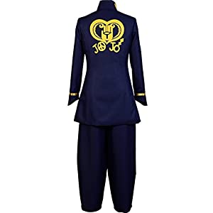 UU-Style Halloween Costume Party Uniform Josuke Higashikata Outfit Cosplay Costume