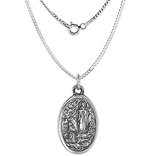 Sterling Silver Bernadette Ascension Necklace