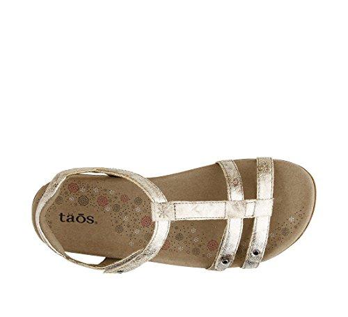 Taos Women's Trophy Sandal Vintage Silver footaction cheap price 1W2d0ice