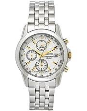 Seiko Chronograph Two Tone Bracelet Strap Gents Watch SNDC11P1