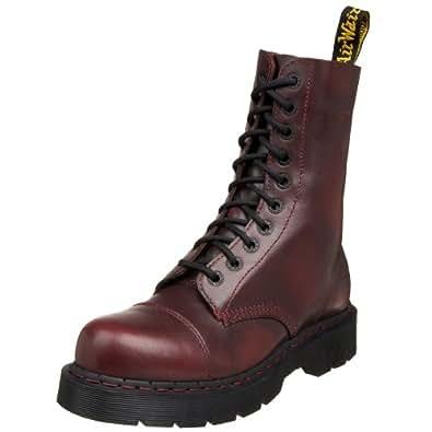 Dr martens men 39 s 8267 boot red vintage 14 for Amazon dr martens