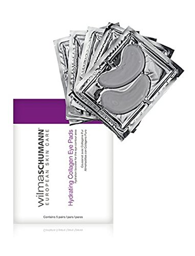 Fine Eye (Wilma Schumann 100 Percent Pure Collagen Hydrating Eye Pads to Visibly Reduce Puffy Eyes, Fine Lines and Wrinkles (Pack of 5 Applications))