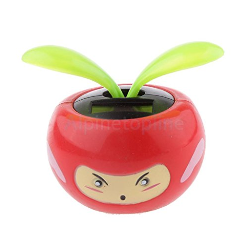Flip Flap Solar Powered Facial Flowerpot Swing Dancing To...