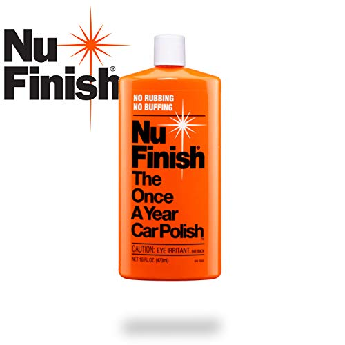 Nu Finish Liquid Car Polish, Better than Wax, 16 fl oz.