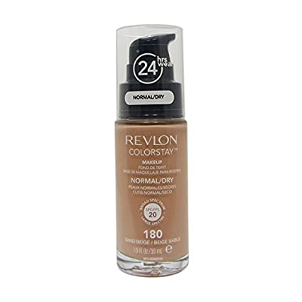 Revlon – ColorStay dispensador Piel Normal Y Seca – Maquillaje Sand Beige