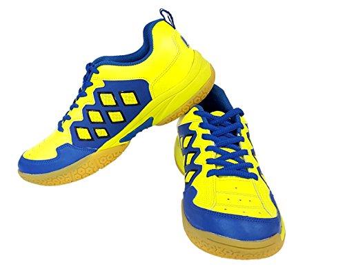 Vector X CS 2010 Green Blue Badminton Shoes