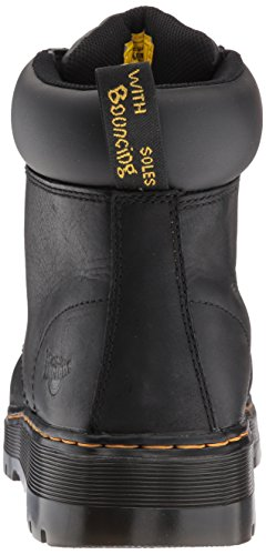 Dr. Martens Mens Winch 7-eye Cushion Safety Toe Boot Nero Wyoming