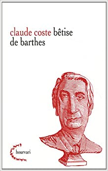 Book Betise de Barthes (Hourvari)