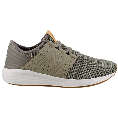 New Balance Boys' Cruz V2 Fresh Foam Running Shoe, Military Foliage Green, 5 M US Big ()