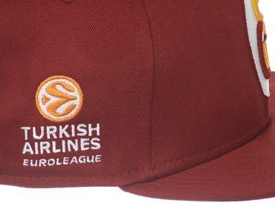 New Era Galatasaray EuroLeague Red SnapBack Cap Small Medium