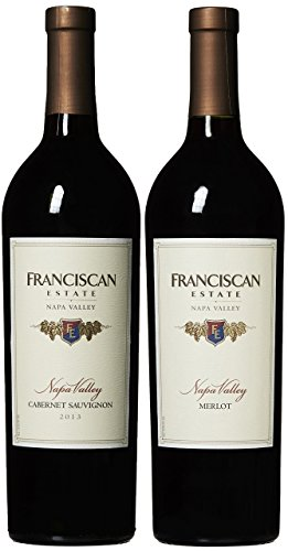 Franciscan Napa Valley Red Varietals Mixed Pack, 2 x 750 mL Wine